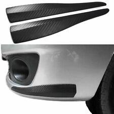 Für viele Fahrzeuge 2x Universal Spoiler Fender Ecken Stoßstange in Carbon Optik