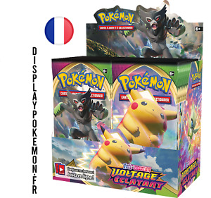 Boite Display Pokemon 36 Booster Épée Bouclier 4 Voltage Éclatant VF NEUF SCELLÉ