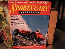 1956--December  SPORTS CARS ILLUSTRATED  Magazine