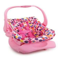 Doll Or Stuffed Toy Car Seat Pink Dot Comfort Comfortable Joovy New