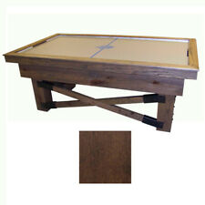 Medium Maple Dynamo Rustic Air Hockey Table