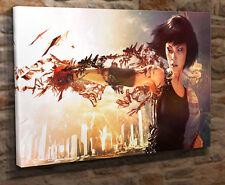 """Box canvas wall art Picture Print Faith Mirrors Edge 18""""x32"""" JN15"""