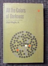 1963 ALL THE COLORS OF DARKNESS by Lloyd Biggle HC/DJ FVF/VG- Doubleday