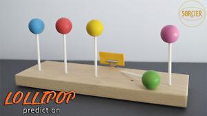 LOLLIPOP PREDICTION by Sorcier Magic - Trick