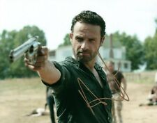 Andrew Lincoln As Rick Grimes The Walking Dead Signed 8x10 Photo COA 11 Proof