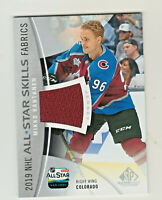 2019-20 UD SP GAME USED ALL STAR SKILLS FABRICS JERSEY RELIC MIKKO RANTANEN