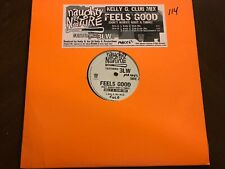 """NAUGHTY BY NATURE FEELS GOOD VINYL 12"""" TVT EXC COVER VG"""