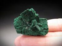 Malachite after Azurite Crystals, Sir Dominick Mine, Australia