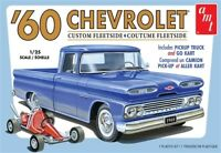 AMT 1063 UNBUILT 1960 CHEVROLET CHEVY FLEETSIDE PICKUP WITH GO KART MODEL KIT