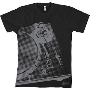 DMC Technics Halftone Deck t-shirt # black/grey (s/m/l/xl/xxl) NEW