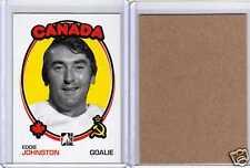 EDDIE JOHNSTON 09/10 ITG 1972 *BLANK BACK* Rare SP #178 Hockey Card Parallel