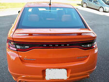 PAINTED DODGE DART CUSTOM STYLE SPOILER 2013-2016
