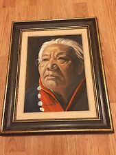 Aboriginal Art Original Painting Prince George British Columbia BC Canada