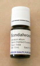 Sandalwood ESSENTIAL OIL 5 mL Superior Quality Pure Essential Oil Santalum album