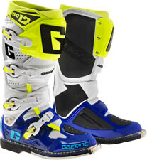 GAERNE SG-12 BOOT WHITE/BLUE/NEON SIZE 10 2174-050-010