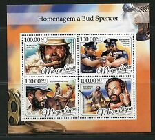 MOZAMBIQUE 2017 TRIBUTE TO BUD SPENCER  SHEET  MINT NH