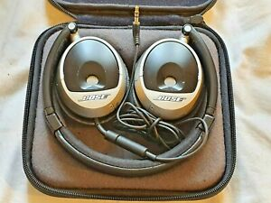 Bose Triport OE On-Ear Folding Headphones including case and audio cable