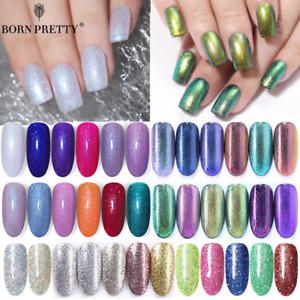 BORN PRETTY Glitter UV Gel Nail Polish  Sequins  Gel Varnish DIY