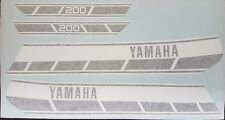 YAMAHA RD200C RD125C DECAL KIT
