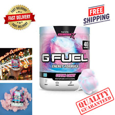 G Fuel Cotton Candy Tub 40 Servings Elite Energy and Endurance Formula 9.8 oz.