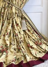 """ZOFFANY Interlined & Blackout Curtains REVEILLON 94""""d Several Pairs Available"""
