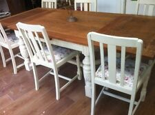 Oak More than 8 Table & Chair Sets with Additional Leaves