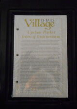 2018 Village D-Tails Secondary Market Guide Greenbook Vol 1 & 2 & Update NEW