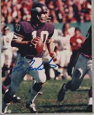 Fran Tarkenton  Minnesota Vikings Signed 8x10 Photo Mounted Memories COA