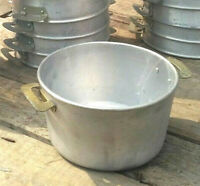 CAMPING COOK Vintage Aluminum Food Cooking Mess 3Lit / 0.8Gal USSR ARMY MILITARY