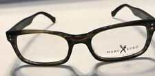 Marc Ecko Cut & Sew Eyeglasses Frame 52/19/145 Monitor Olive Horn
