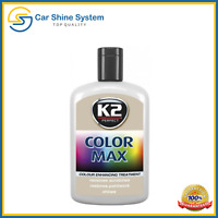 Car Paint K2 COLOR MAX  APPLICATOR Cover Scratches Silver Grey QUICK POLISH