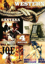 4 Movies on 1 DVD Western Collection (DVD, 2014)