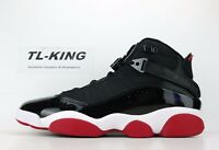 Nike Air Jordan 6 Rings Bred Black Varsity Red White 322992 062 Msrp $165 CU