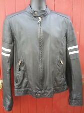 River Island LEATHER BIKER STYLE JACKET S.