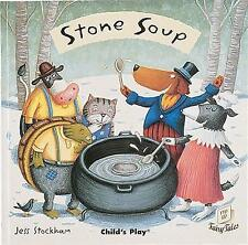 Stone Soup (Flip Up Fairy Tales)-ExLibrary