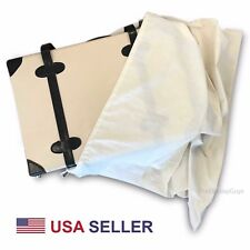 US Seller~25x25 Cotton Muslin Drawstring Dust Covers Purse Covers Clutch Covers