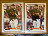 2020 Bowman Draft 1st Edition #111 Jordan Westburg Card Baltimore Orioles (2)