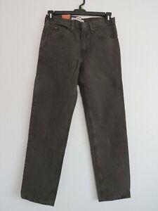 Lee Regular Fit Mens Jeans Color Fatigue Size 34x30