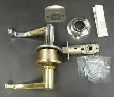 Yale Heritage McClure 22MC RH Privacy Lever D5225301 Bright Brass and Pol.Chrome
