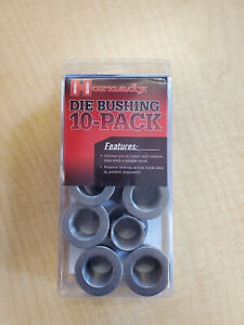 Hornady 10 pack Lock-N-Load Die Bushing - New 10 Pack 044096 Reloading bushings