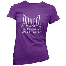 Maglie e camicie da donna viola in cotone taglia 40