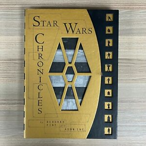 STAR WARS CHRONICLES 1997 BY DEBORAH FINE AND AEON INC HARDBACK BOOK