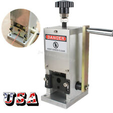 Flexible Copper Wire Stripping Machine Hand Crank Drill Operated Cable Stripper