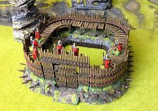 Palisade and Earthwork Hold out, for wargames