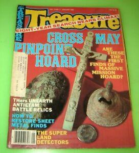 TREASURE SEARCH Magazine January 1983 Metal Detectors Gold