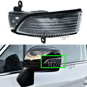 Left Side LED Wing Mirror Light Lamp For Subaru Forester Outback XV WRX Legacy