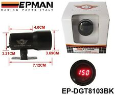 EPMAN 37mm Micro Digital Oil Temperature Gauge Auto Gauge / Meter Black Free Sh