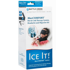 Battle Creek IceIt! Headache & Migraine Kit Hot&Cold Therapy (Model 610)