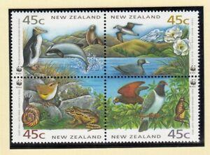 (90179) New Zealand MNH WWF Birds 1993