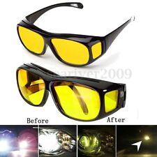 Men Women HD Lenses Sunglasses Night Vision Goggle Driving Glasses UV Protection